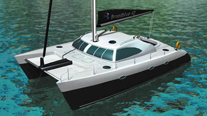 Broadblue 42 Catamaran By Broadblue Marine
