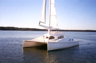 Savannah 26 Catamaran - A Trailerable Catamaran