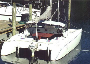 TomCat 6.2 Catamaran - A trailerable Catamaran