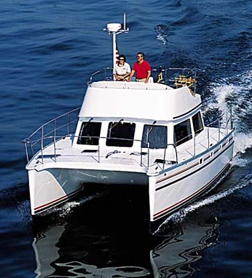 Pdq Mv32 Power Catamaran By Pdq