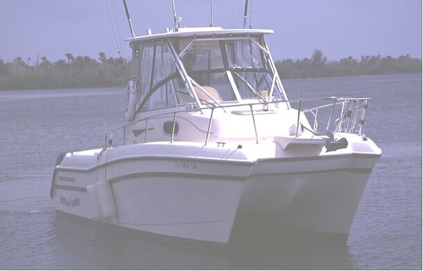 Used f26 tigercat power catamaran for sale - Breakpoint