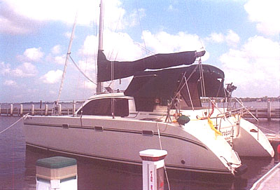 Used lagoon 35ccc catamaran for sale - Dragonfly