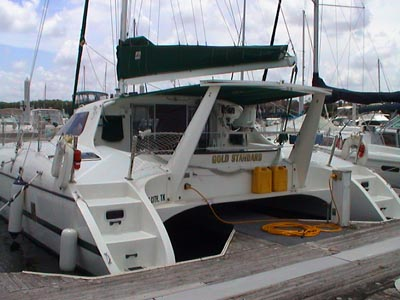 Used Couches For Sale >> Used Wildcat 350 catamaran for sale - GOLD STANDARD