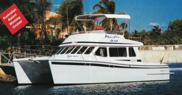 Used Scimitar 365 Power Catamaran For Sale Pacific High
