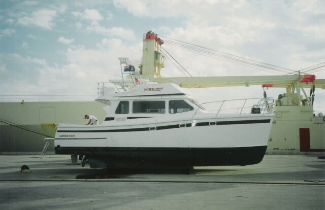 Power catamaran for sale http www 2hulls com used power catamarans