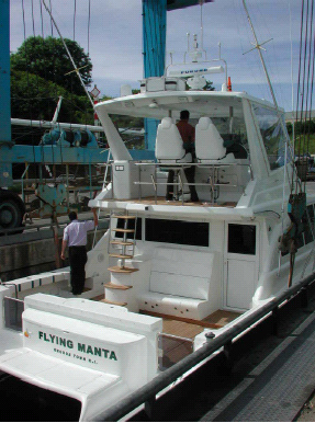 Used Crowther 48 Power Catamaran For Sale Flying Manta