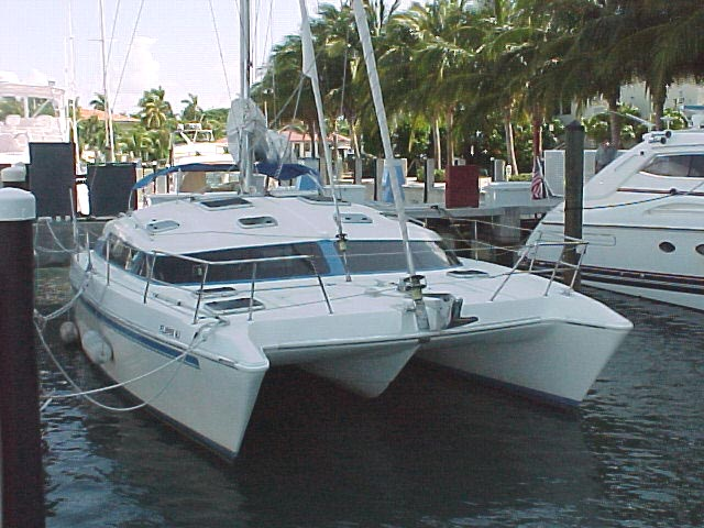 Used Water Tanks For Sale >> Used prout escale 39 catamaran for sale - Lady Level