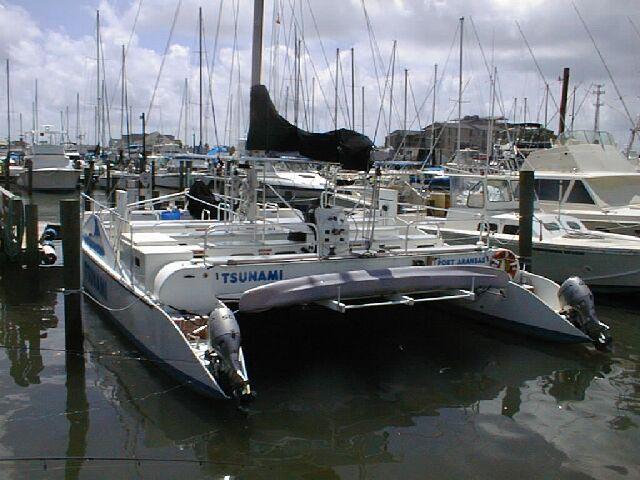 Used commercial passenger 45 catamaran for sale - Tsunami