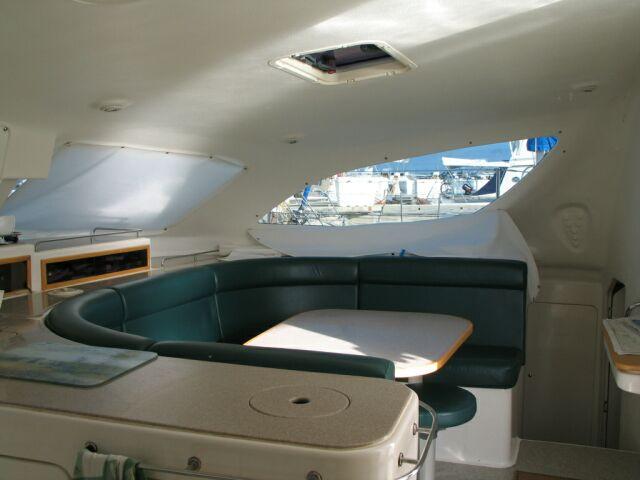 Used Voyage 380 Catamaran For Sale Blue