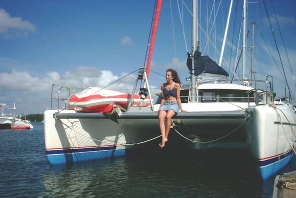 Used Athena 38 Catamaran For Sale Centaurus
