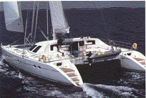 Used Lagoon 67 catamaran for sale - Pura Vida