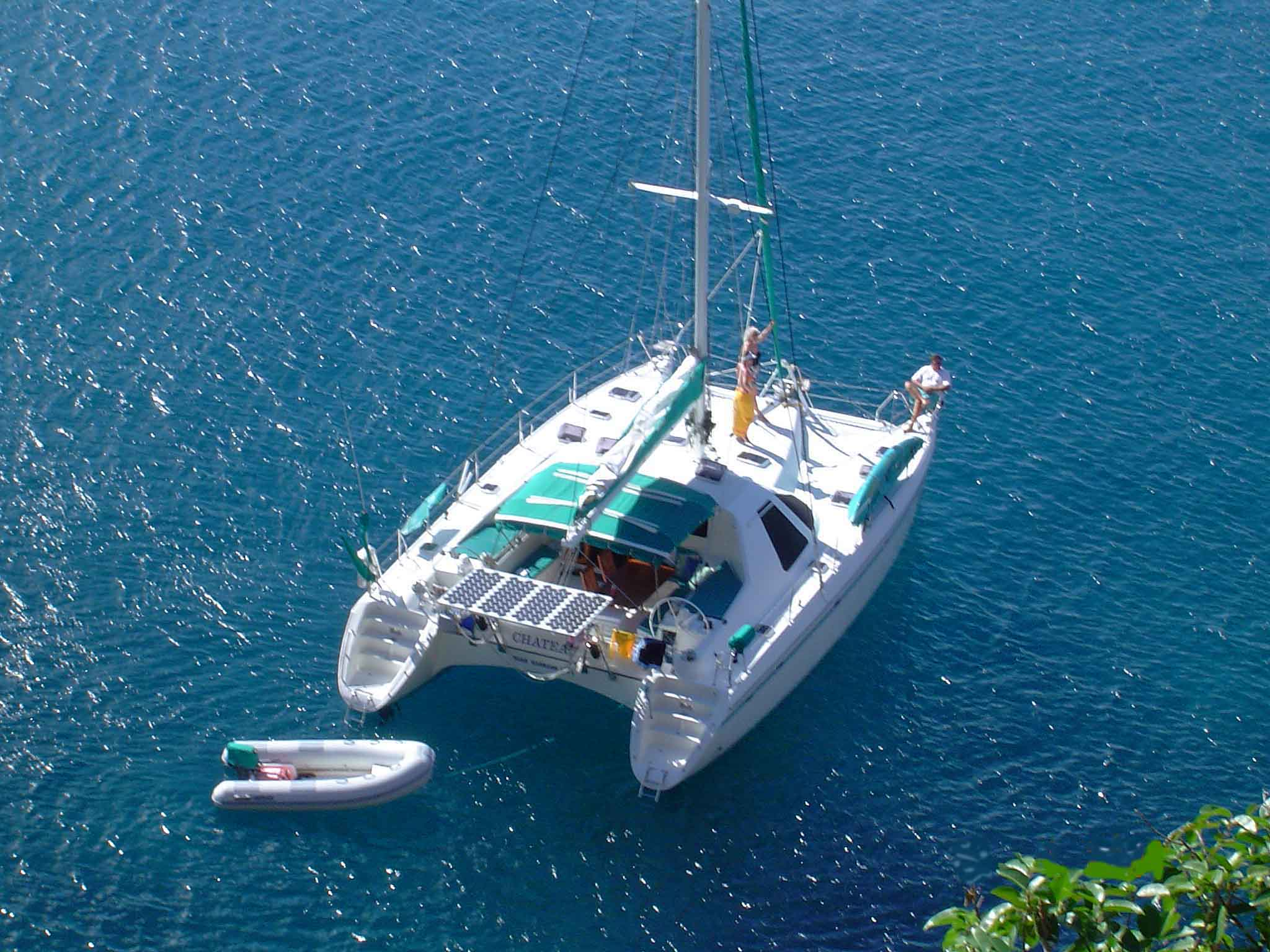 Bbq Islands For Sale >> Used Privilege 42' catamaran for sale - Chateau