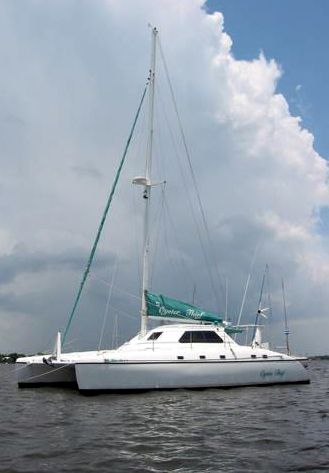Used Wildcat 350 Catamaran For Sale Oyster Thief