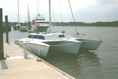 Used Brown Searunner 34 Trimaran For Sale Pisces