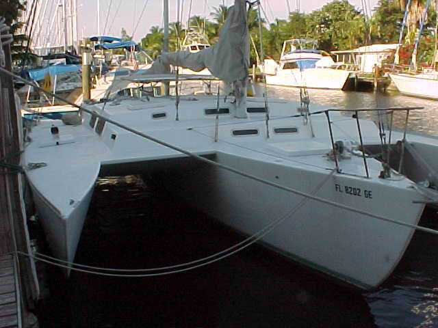 Used cross tri 44 trimaran for sale - Elysium